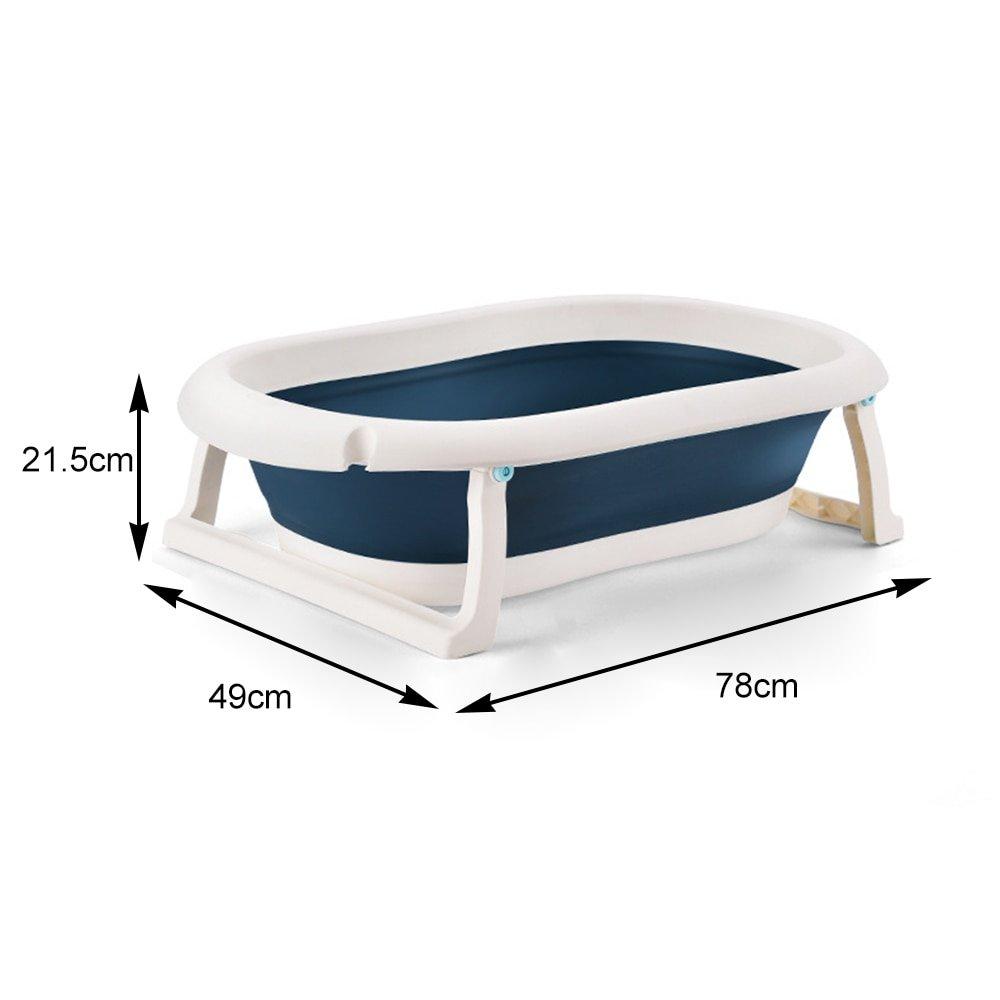 Portable Bathtub Collapsible Bathtub Folding Bath Basin for Baby and Pet